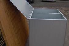 Duel fuel 1 storage bin side view
