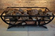 Bespoke Ornamental Log Basket