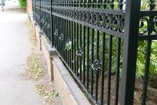 Bespoke heavy duty railings
