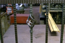 Bespoke heavy duty railing