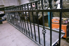 Bespoke heavy duty railing panel